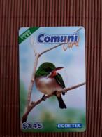 Prepaidcard Bird Dominica $ 145 Used 2 Scans Rare - Dominica