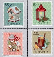 Switzerland - 2020 - Christmas - Mint Self-adhesive Stamp Set - Unused Stamps