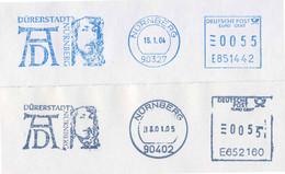 954  Albrecht Dürer: 2 Ema D'Allemagne, 2004/05 - German Painter, Printmaker, Engraver, Mathematician (!) - Unclassified