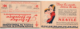 CARNET  - Antituberculeux - 1933 - Complet** - Nestlé/Suchard - - Antitubercolosi
