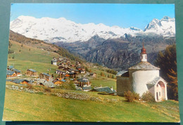 ANTAGNOD , Valle D'Aosta # Cartolina  # Viaggiata 25/4/1982 #destinazione Castellamonte (Torino) - Zonder Classificatie