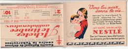 CARNET  - Antituberculeux - 1933 - Complet** - Nestlé/Heudebert/Savon - - Antitubercolosi