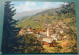 CHAMPOLUC, Panorama  ( Valle D'Aosta ) # Cartolina  # Viaggiata 10/2/1983 #destinazione Castellamonte (Torino) - Zonder Classificatie