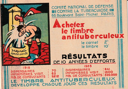 CARNET  - Antituberculeux - 1930 - Complet** - Nestlé / Heudebert - - Antitubercolosi