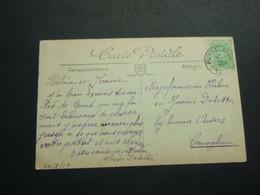 Stempel ( 502 )  Afstempeling Op Kaart  Grottes De Betharram -  Noodstempel   1919 - Noodstempels (1919)