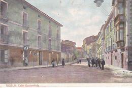 CPA Old Pc Espagne Tudela Calle Gaziambide - Navarra (Pamplona)
