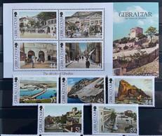 Gibraltar MNH 2009 - Old Views Of Gibraltar I - Gibilterra