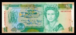 # # # Ältere Banknote Belize (Belize) 1 Dollar 1990 UNC # # # - Belize