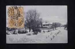 RUSSIE - Affranchissement De Moscou Sur Carte Postale En 1908 Pour La France - L 78622 - Storia Postale