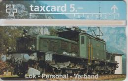 SWITZERLAND - PHONE CARD - TAXCARD PRIVÉE ***  TRAIN - ZUG / 1  *** - Switzerland