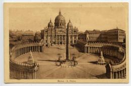 Roma - Cartolina Antica BASILICA DI SAN PIETRO (Anno1913 - Ed. 43 Fototipia Alterocca - Terni) - OTTIMA D25C - San Pietro