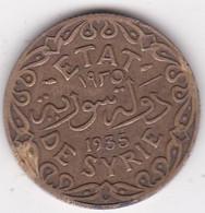 ETAT DE SYRIE. 5 PIASTRES 1935 AILE - Syria