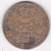 ETAT DE SYRIE. 5 PIASTRES 1926, Sans Differents - Syria