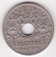 ETAT DE SYRIE .1 PIASTRE 1936 - Syria