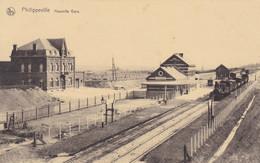 Philippeville, Nouvelle Gare Avec Train (pk74012) - Philippeville