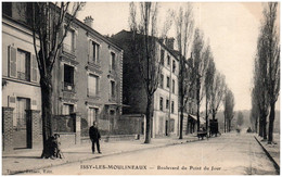 92 ISSY-les-MOULINEAUX - Boulevard Du Point Du Jour - Issy Les Moulineaux