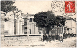 92 GENNEVILLIERS - Les écoles De La Rue Aguado - Gennevilliers
