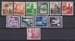 Generalgouvernement - 1940 - Michel Nr. 40/48 + 50/51 - Gestempelt - Occupation 1938-45
