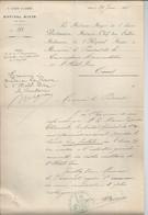 3e CORPS D'ARMEE  HOPITAL MIXTE DE CAEN  Le 29 Juin 1897 - Otros