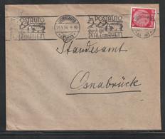 """Deutsches Reich / 1934 / Brief Stempel """"Ludwigshafen-Postauto"""" (C763) - Cartas"""