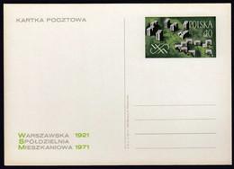 Poland 1971 / Warsaw Housing Cooperative / Postal Stationery - Enteros Postales
