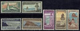 Neuseeland / New Sealand - Mi-Nr 25/27 + 29/32 Postfrisch / MNH ** (K1103) - Phares