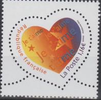 Saint Valentin Cœur «je T'aime» Issu Du Carnet 50 Ans Graves Dans L'histoire (timbres Spéciaux) - Nuovi