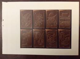Le Chocolat. Feuille Issue Du Carnet 50 Ans Graves Dans L'histoire (timbres Spéciaux Avec Encre Parfumée) - Nuovi