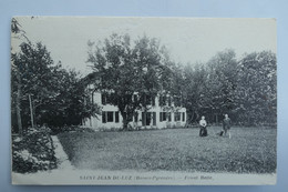 C. P. A. : 64 SAINT-JEAN DE LUZ : Villa Frisat Baïta, Animé, Timbre En 1948, RARE - Saint Jean De Luz