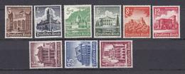 Deutsches Reich - 1940 - Michel Nr. 751/759 - Ungebr. - Ongebruikt