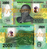 ANGOLA 2000 Kwanzas, Prefix A, 2020, Leba Mountain In Namibe, New Polymer, UNC - Angola