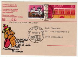 """Suisse // Schweiz // Svizzera // Entier Postaux // Entier Postal  """"Namoba Bern"""" - Ganzsachen"""