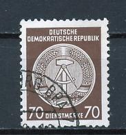 Allemagne Démocratique - Germany - Deutschland Service 1955 Y&T N°S27 Type 2 K13 - Michel N°D27I (o) - 70p Armoirie - Service