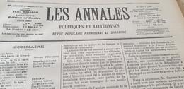 ANNALES 97 /RENNES DREYFUS LABORI MERCIER /DEROULEDE CHATEAU DE L ANGELY - Zeitschriften - Vor 1900