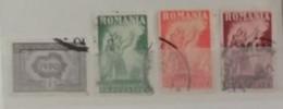 Roumanie 1930 / Yvert N°402-405 / Used - Usati