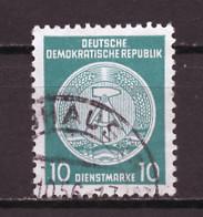 Allemagne Démocratique - Germany - Deutschland Service 1958-59 Y&T N°S50B Type 4 K13 - Michel N°D35A (o) - 10p Armoirie - Service