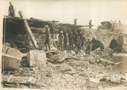 PONT SAUTE PAR LES ALLEMANDS PHOTO ORIGINALE 18 X 13 CM - War, Military