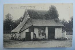 C. P. A. : 27 : TILLIERES SUR AVRE : Hostellerie Du Bois Joli, Route De Paris Brest, Borne N° 104 - Tillières-sur-Avre