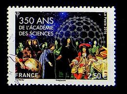 FRANCE 2016 - N° 5074 - 350 ème Anniversaire De L'Académie Des Sciences - Used Stamps