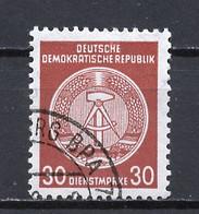 Allemagne Démocratique - Germany - Deutschland Service 1958-59 Y&T N°S50E Type 4 K13 - Michel N°D38A (o) - 30p Armoirie - Service