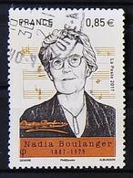 FRANCE 2017 - N° 5169 - Nadia Boulanger - Cachet à Date - Used Stamps