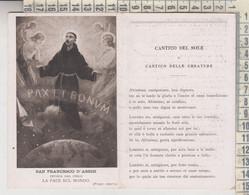 SAN FRANCESCO D'ASSISI VII° CENTENARIO DELLA MORTE DI S. FRANCESCO CANTICO DEL SOLE 1928? - Saints