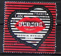 FRANCE 2018 - N° 5199 - Coeur De Sonia Rykiel - Used Stamps
