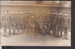 Soldaten Foto Stempel Darmstadt 1914 - Guerra 1914-18