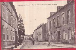 Dépt 88 - LAMARCHE - Rue Du Colonel Renard - Hôtel De Ville - Lamarche