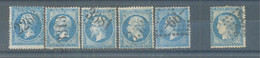 1849-53 France Groupe Stamps Used - 1853-1860 Napoléon III.