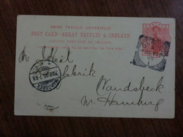 Cartolina  Del 1895 - Non Classificati