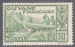 ININI   SCOTT NO. 10   MINT HINGED    YEAR  1932 - Unused Stamps