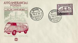 1952. Portugal. Viagem Inaugural Da Autoambulância Lisboa-Sintra-Cascais - Post
