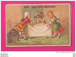 CHROMOS (Réf VV 426) CAFÉ GAULTHIER-MARCHAIS CHARTRES - Tè & Caffè